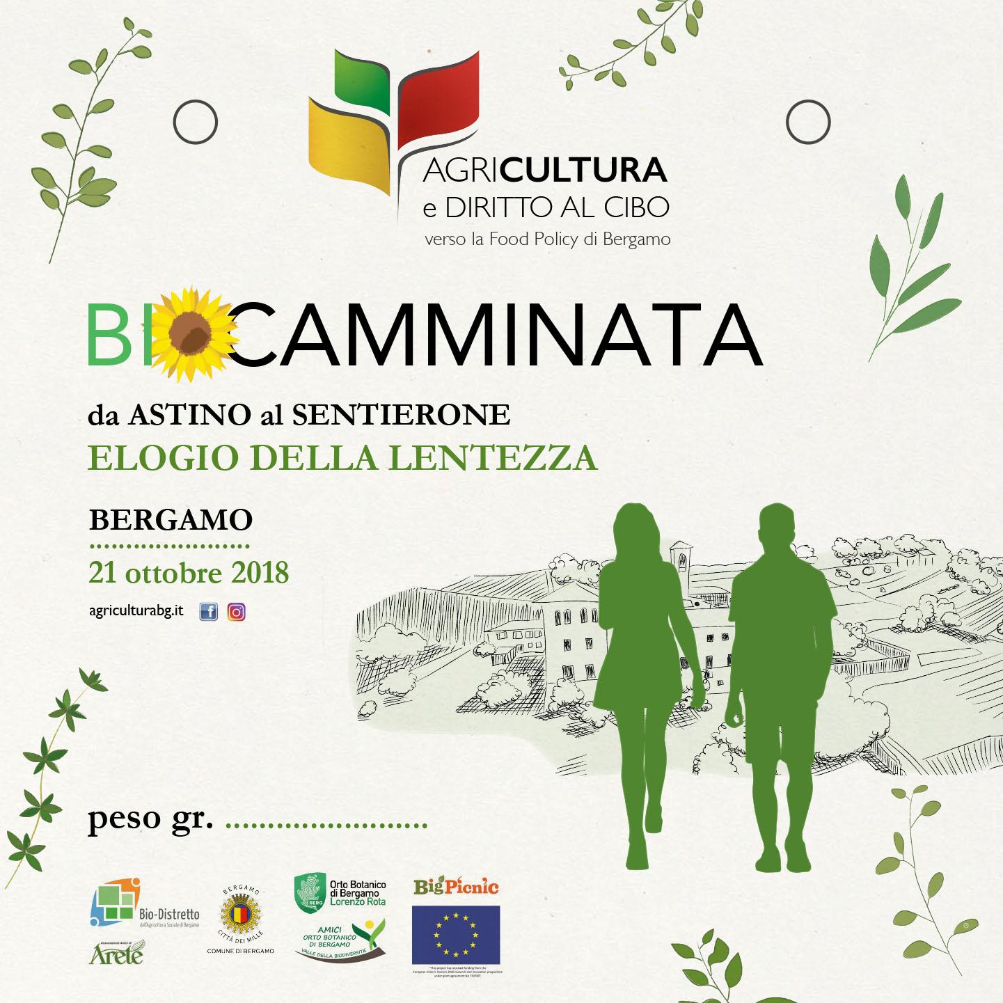Arete' alla BioCamminata