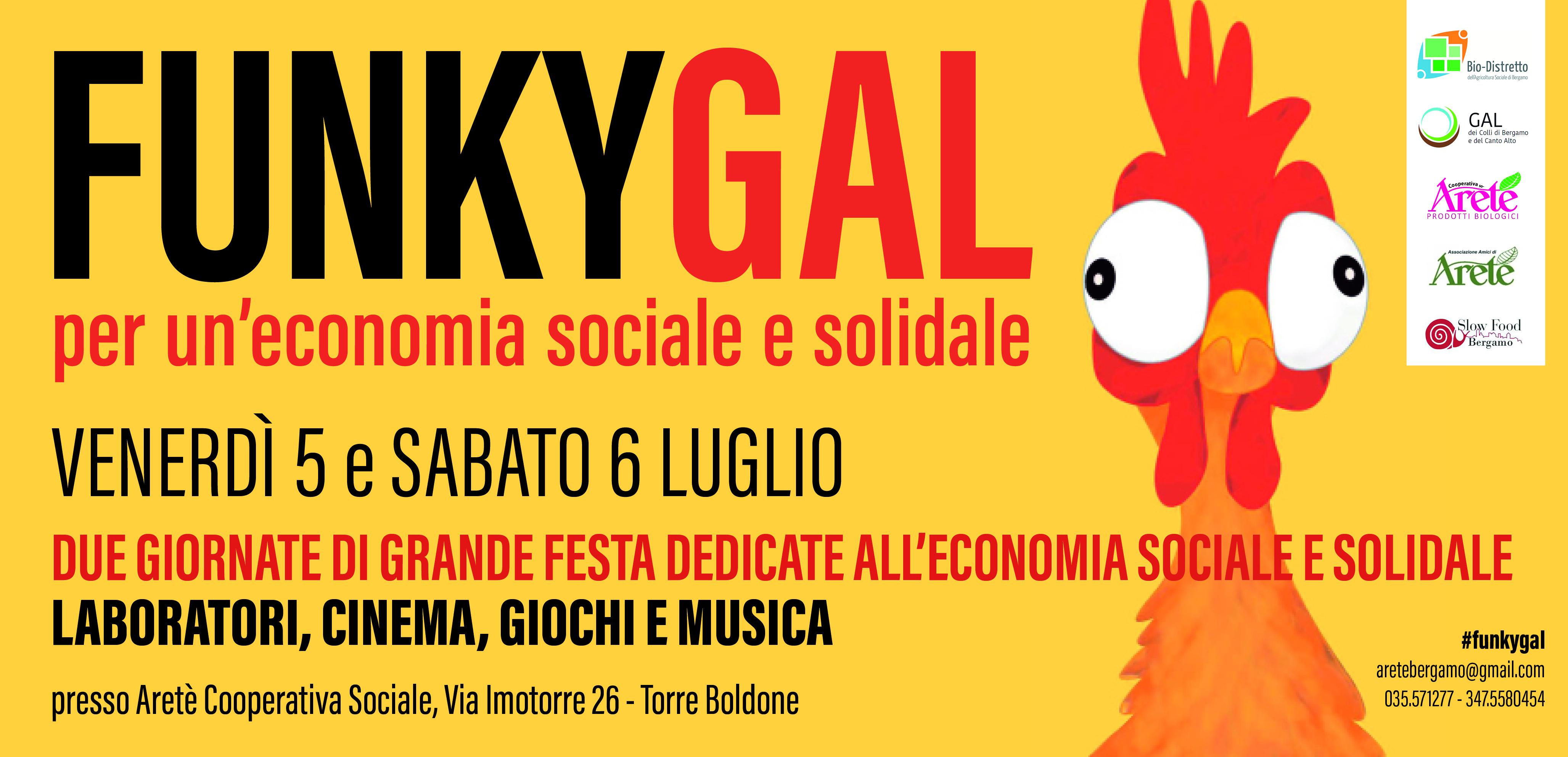Funky Gal – banner – economia sociale e solidale